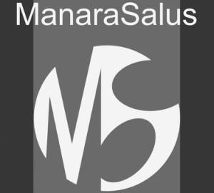 ManaraSalus logo con scritta Copia